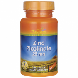 Zinc Picolinate, 25 mg 60 Tabs