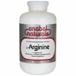 LArginine, 1.1 lbs (500 grams) Pwdr