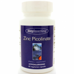 Zinc Picolinate, 25 mg 60 Veg Caps