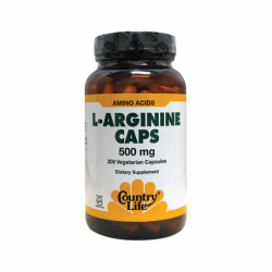 LArginine Caps, 500 mg 200 Veg Caps