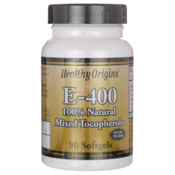 E400 100 Natural Mixed Tocopherols, 400 IU 90 Sgels