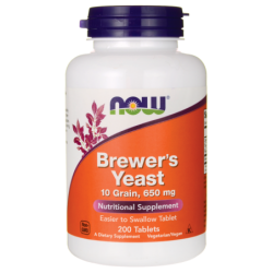 Brewers Yeast, 650 mg 200 Tabs