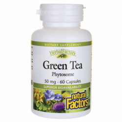 Green Tea Phytosome, 50 mg 60 Caps