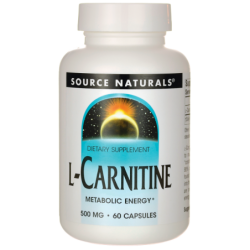 LCarnitine, 500 mg 60 Caps