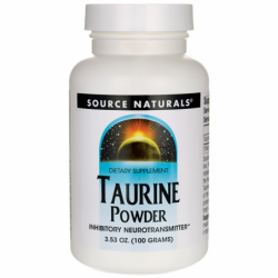 Taurine Powder, 3.53 oz (100 grams) Pwdr