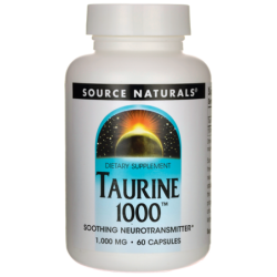 Taurine 1000, 1,000 mg 60 Caps