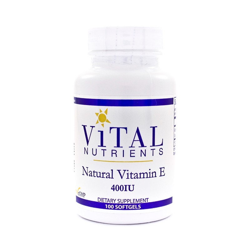 Natural Vitamin E, 400 IU 100 Sgels