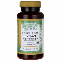 Olive Leaf Extract Super Strength, 750 mg 60 Caps
