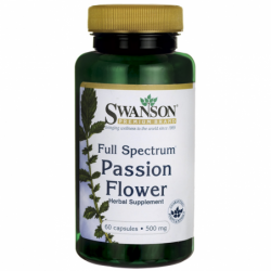FullSpectrum Passion Flower, 500 mg 60 Caps