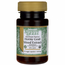 Maximum Potency Horny Goat Weed Extract, 300 mg 30 Veg Caps