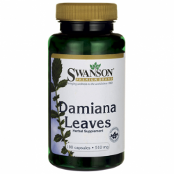 Damiana Leaves, 510 mg 100 Caps