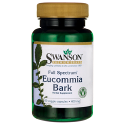 Full Spectrum Eucommia Bark, 400 mg 60 Veg Caps