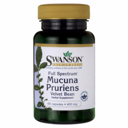 Full Spectrum Mucuna Pruriens, 400 mg 60 Caps