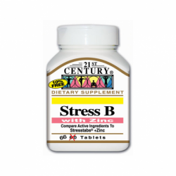 Stress B with Zinc, 66 Tabs