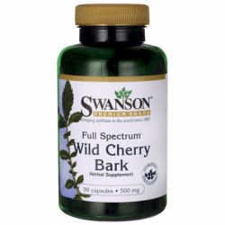 Full Spectrum Wild Cherry Bark, 500 mg 90 Caps