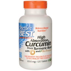 High Absorption Curcumin from Turmeric Root, 1,000 mg 120 Tabs