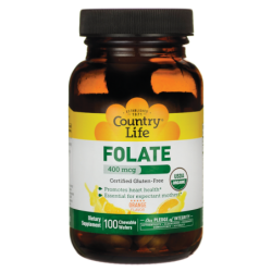 Folate, 400 mcg 100 Wafers