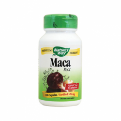 Maca Root, 525 mg 100 Caps