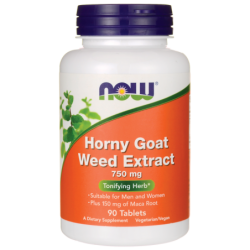 Horny Goat Weed Extract, 750 mg 90 Tabs