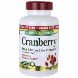 Cranberry Plus Vitamin C, 4,200 mg 250 Sgels