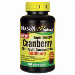 Super Strength Cranberry, 6,000 mg 60 Sgels