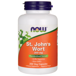 St Johns Wort, 300 mg 250 Veg Caps