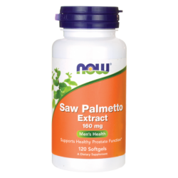 Saw Palmetto Extract, 160 mg 120 Sgels