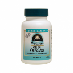 Wellness Oil of Oregano, 60 Caps