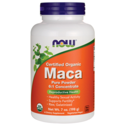 Certified Organic Maca Pure Powder, 7 oz (198 grams) Pwdr