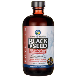 Egyptian Black Seed ColdPressed Oil, 8 fl oz (240 mL) Liquid
