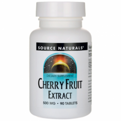 Cherry Fruit Extract, 500 mg 90 Tabs