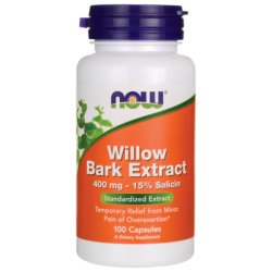 Willow Bark Extract, 400 mg 100 Caps