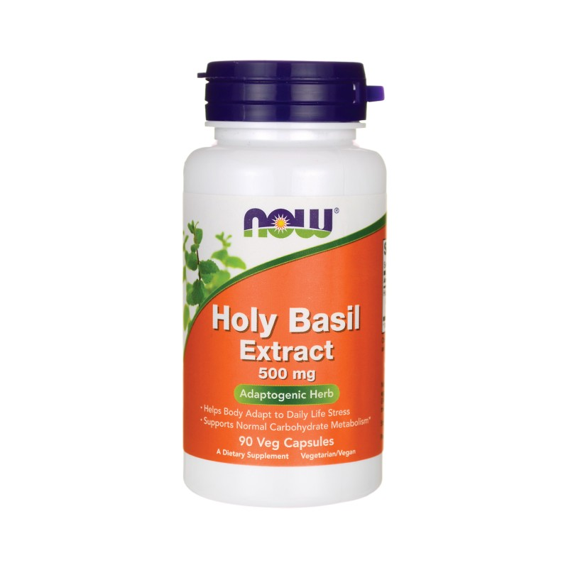 Holy Basil Extract, 500 mg 90 Veg Caps