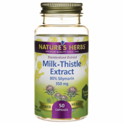 MilkThistle Extract, 50 Caps