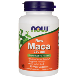 Raw Maca, 750 mg 90 Veg Caps