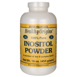 100 Pure Inositol Powder, 16 oz (454 grams) Pwdr