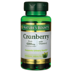 Cranberry with Vitamin C, 4,200 mg 120 Sgels