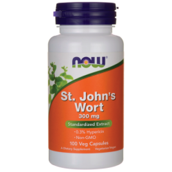 St Johns Wort, 300 mg 100 Veg Caps