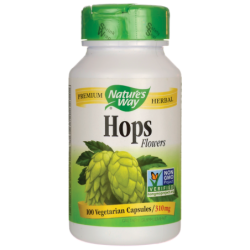 Hops Flowers, 100 Caps