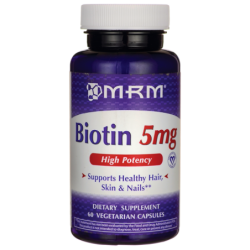 High Potency Biotin, 5 mg 60 Veg Caps