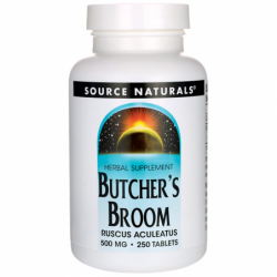 Butchers Broom, 500 mg 250 Tabs
