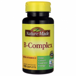 BComplex with Vitamin C, 100 Cplts