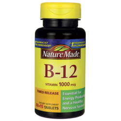 Vitamin B12 Timed Release, 1,000 mcg 75 Tabs
