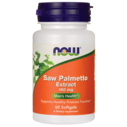 Saw Palmetto Extract, 160 mg 60 Sgels