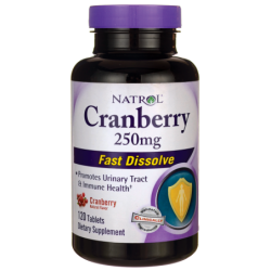 Cranberry Fast Dissolve, 250 mg 120 Tabs