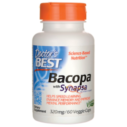 Bacopa with Synapsa, 320 mg 60 Veg Caps