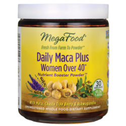 Daily Maca Plus Women Over 40, 1.60 oz (45.3 grams) Pwdr