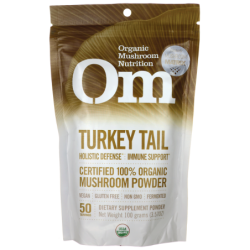 Turkey Tail  Certified 100 Organic Mushroom Powder, 3.57 oz (100 grams) Pwdr