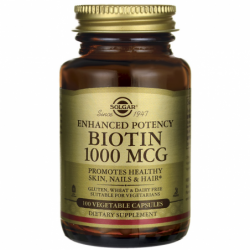 Enhanced Potency Biotin, 1,000 mcg 100 Veg Caps