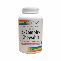 BComplex Chewable StrawberryKiwi, 50 Wafers
